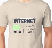 Where Do You Think You Are, Cyberspace? (Dark) Unisex T-Shirt