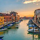 Murano Sunset by Tarrby