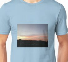 Sunset on North Downs August 2016 Unisex T-Shirt