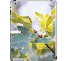 Summer Leaves iPad Case/Skin