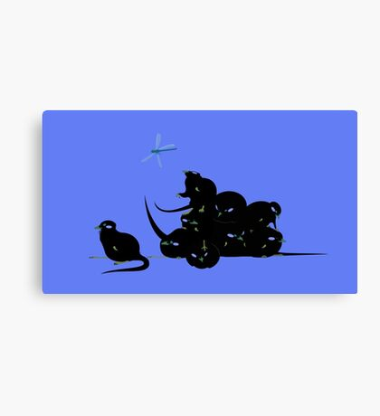 compys or tribble pile? Canvas Print