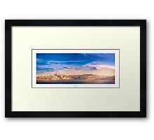 Valletta Panorama Framed Print