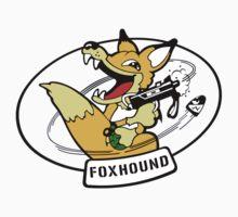 FOXHOUND METAL GEAR (2) One Piece - Short Sleeve
