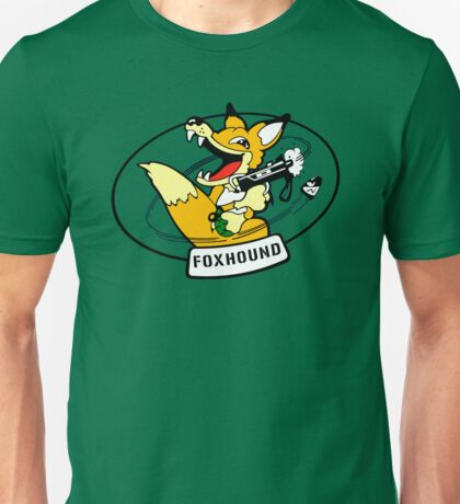 FOXHOUND METAL GEAR (2) Unisex T-Shirt