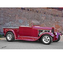 1929 Ford 'Stonewall' Roadster Pickup Photographic Print