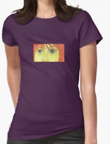 Look into my eyes Womens Fitted T-Shirt