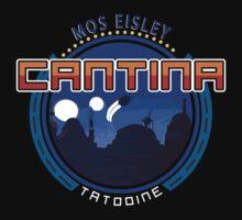 Mos Eisley Cantina Planet Tatooine Kids Tee