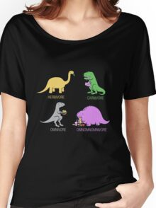 Funny Dinosaurs Women's Relaxed Fit T-Shirt