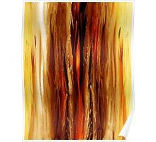 Abstract Forest Hidden Secrets Poster