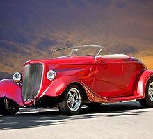 1933 Ford Roadster I by DaveKoontz
