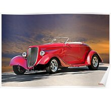 1933 Ford Roadster I Poster