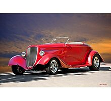 1933 Ford Roadster I Photographic Print
