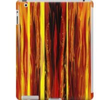 Yellow Light Abstract Forest iPad Case/Skin