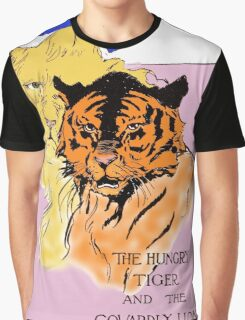 The Cowardly Lion and the Hungry Tiger Graphic T-Shirt