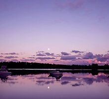 Reflections - Merimbula ... by Erin Davis