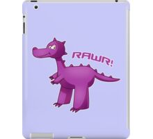 Purple T-Rex iPad Case/Skin