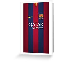 FC barcelona Greeting Card