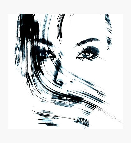 Face Photographic Print
