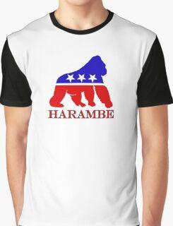 Harambe Vote  Graphic T-Shirt
