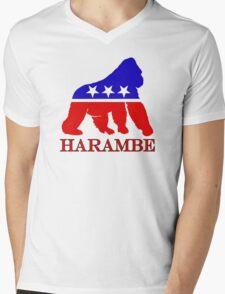 Harambe Vote  Mens V-Neck T-Shirt