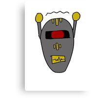 Robot 101010011101 Canvas Print