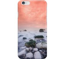 Warm coastal sunset iPhone Case/Skin