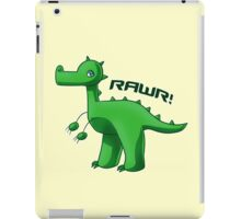 Green T-Rex iPad Case/Skin