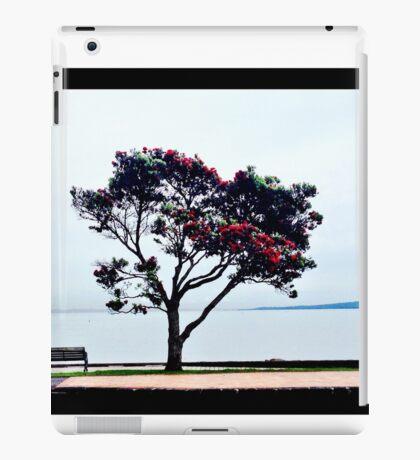 Pohutakawa tree, New Zealand iPad Case/Skin