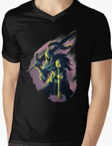 Knight Artorias Mens V-Neck T-Shirt