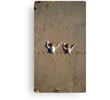 Synchronised Swimming Canvas Print