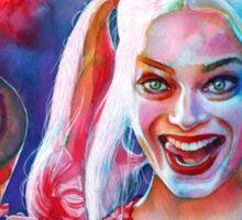 Crazy Margot Robbie Sticker