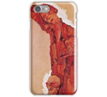 Egon Schiele - Composition With Three Male Figures Self Portrait 1911 iPhone Case/Skin