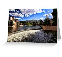 Maggie Pond in Breckenridge Greeting Card