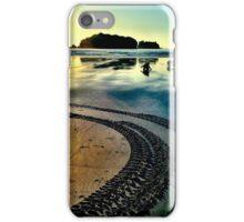 Sunrise beach walk 2 iPhone Case/Skin
