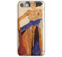 Egon Schiele - Moa 1911 iPhone Case/Skin