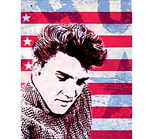 Elvis portrait nº1 Photographic Print