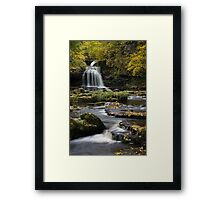 West Burton Approach Framed Print