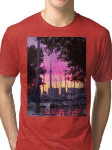 Toronto-CN Tower Tri-blend T-Shirt