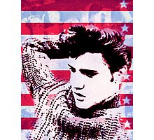 Elvis portrait nº2 Photographic Print