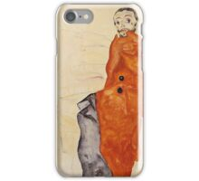 Egon Schiele - I Love Antitheses 1912 iPhone Case/Skin