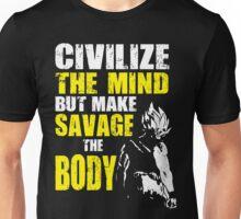 Make Savage The Body (Super Saiyan) Unisex T-Shirt