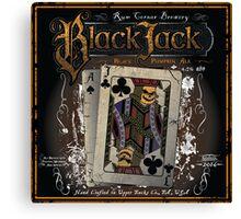 Black Jack Pumpkin Ale Canvas Print