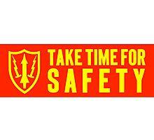 safety motto: Nike Missile Site. VividScene Photographic Print