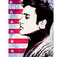Elvis portrait nº3 Photographic Print