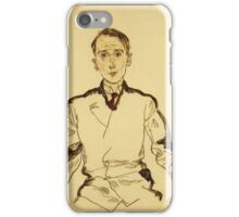 Egon Schiele - Portrait Of Heinrich Rieger 1917 iPhone Case/Skin