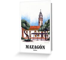 Mazagón, local paradise Greeting Card