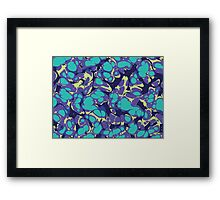 Acid lifeforms Framed Print