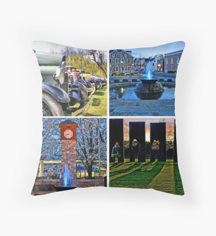 Saucon Valley Spring Throw Pillow