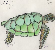 Sea Turtle by inkmaid