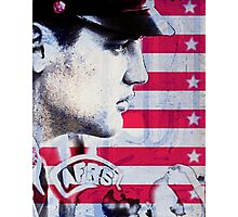 Elvis portrait nº4 Photographic Print